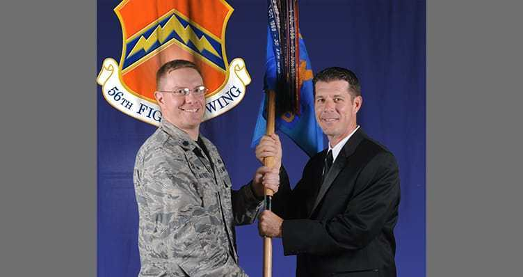 Willmeng President And Superintendent Inducted As Honorary Commanders At Luke Air Force Base