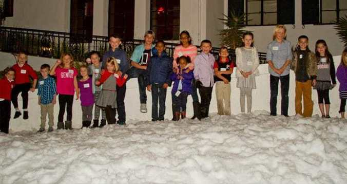 Christmas Party At Wrigley Mansion