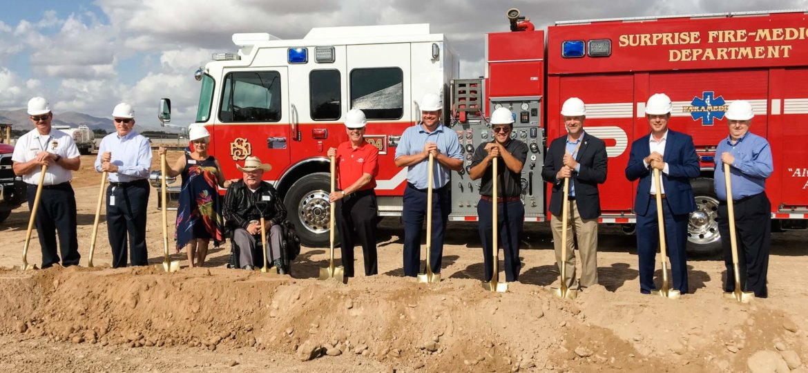 Willmeng Construction Breaks Ground On City Of Surprise Fire Station